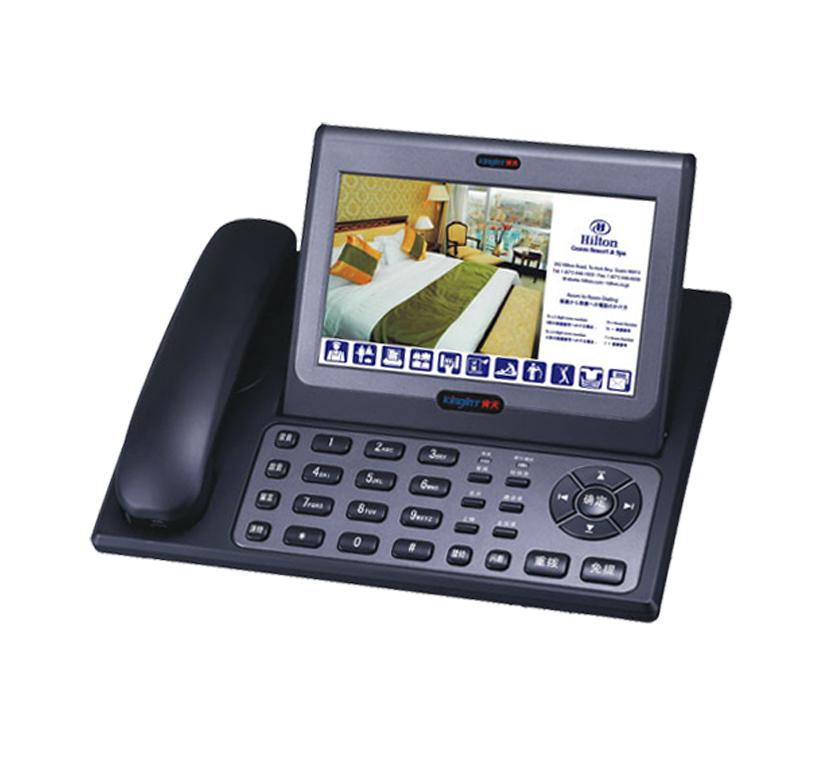 酒店专用电话机金钻8008多媒体